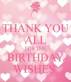Birthday Quotes : thanks for the birthday wishes quote Thank You Quotes For Birthday, Birthday Message To Myself, Thank You For Birthday Wishes, Birthday Greetings For Facebook, Funny Thank You, Birthday Thanks, Happy Birthday Wishes Quotes, Friend Birthday Quotes, Happy Birthday Images