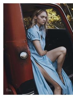 """""""This Is Our Youth"""" Gemma Ward for Vogue Australia January 2016"""