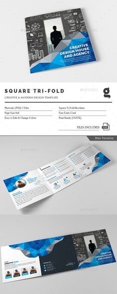 Corporate Square Tri-Fold Template PSD. Download here: http://graphicriver.net/item/corporate-square-trifold/15909817?ref=ksioks