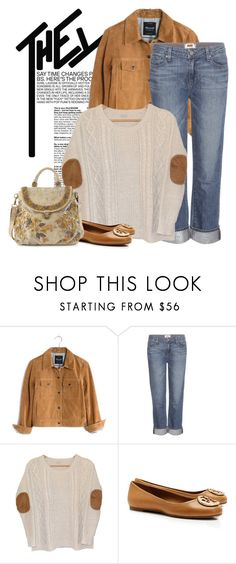 """""""Today's Outfit"""" by andrejae ❤ liked on Polyvore featuring Madewell, Paige Denim, Urban Outfitters, Tory Burch, Mary Frances Accessories, outfitoftheday, outfitidea and spring2016"""