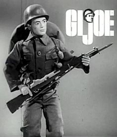The Joe Report Look into his eyes. This GIjOE was one of the first ever created. Its a rare, prototype figure that probably exists now, only in our imaginations. (Screenshot courtesy of Matthew McKeeby) Vintage Toys 1960s, 1960s Toys, Retro Toys, Vintage Ads, Childhood Toys, Childhood Memories, Sweet Memories, Gi Joe 1, Videogames