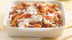 Buffalo Chicken casserole -- making this tonight for dinner