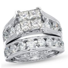 Natasha K Bridal ring set