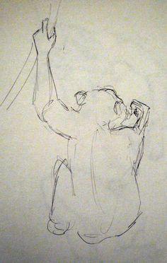 Chimpanzee at Edinburgh Zoo Sketchbook Drawings, Sketches, Zoo Drawing, Observational Drawing, Chimpanzee, Edinburgh, Animation, Artwork, Animals