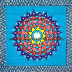 Blue Mandala | by Art by Bala