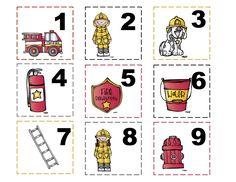 Bomberos: FREE Preschool Printables