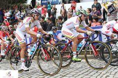 Colombian Cyclist at Richmond 2015 UCI Road World Championships riding a Stradalli Bike