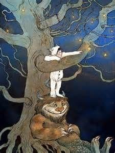 by Erin Kelso - Wild Thing, Maurice Sendak Art And Illustration, Book Illustrations, Maurice Sendak, Fantasy Kunst, Fantasy Art, Fairytale Art, Oeuvre D'art, Les Oeuvres, Illustrators
