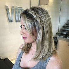 Trança  #vipbodyhair #loira #loiro #blond #blondhair #blonde #blondehair #cabeloloiro #trança #tranças #tranca #trancas #braid #braids #braided #braidideas #penteado #look #ootd #lookdodia #make #beauty #makeup #maquiagem