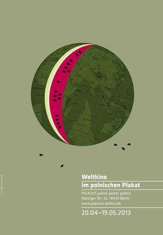 World Cinema in Polish Posters by homework, via Behance
