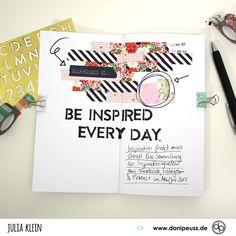 Inspiration sammeln im danidori | Juli Memory Notebook Kit | von Julia Klein für www.danipeuss.de