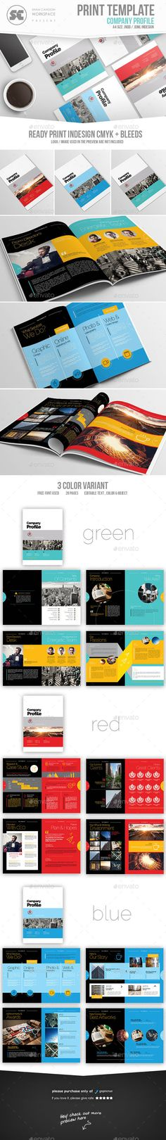 Company Profile Company profile, Corporate brochure and Brochures - company profile templates word
