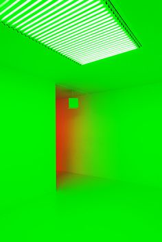Carlos Cruz-Diez at Hayward Gallery Light Show - Photographed by Nat Urazmetova, Some/Things Agency