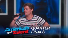 SO ADORABLE! Drew Lynch: Stuttering Comedian Jokes About His Service Dog - America's ...