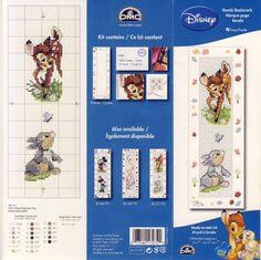 Bambi & Thumper bookmark