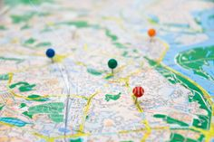 Make a map of places you have been and want to go. Make a list or places and sites to see.