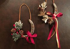 Horse Shoe Holiday 'Wreaths': A DIY Guide
