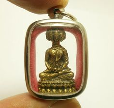 Amulette Bouddha Bouddhiste Miniature Little Buddha talisman