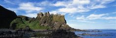 Dunluce Castle, Antrim, Ireland Photographic Print by Panoramic Images - AllPosters.ca