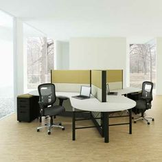 1000 images about office on pinterest conference table for Used modular furniture