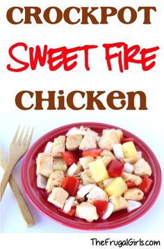 Crock Pot Panda Express Sweet Fire Chicken Recipe! ~ from TheFrugalGirls.com ~ this asian Slow Cooker dinner is so simple and SO delish! #slowcooker #recipes #thefrugalgirls