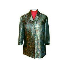CHICO's Blazer,  Size 2 = 16 Silky Blazer Chico's Jackets & Coats Blazers