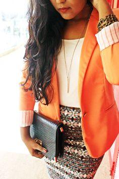 personal style #laelanblog #huesoforange #fashionblogger #fashionaddict #indianblogger