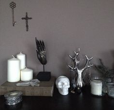 "Modern Gothic Home Decor nona limmen on instagram: ""view from my desk."" 