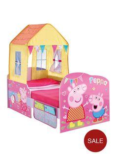 Peppa Pig StarTime Toddler Bed | littlewoods.com
