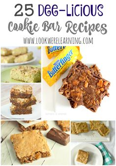 25 Cookie Bar Recipes