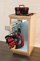 With the Glideware Utility Organizer 5 Hook , your back will thank you every time you reach for a tool or item you need. Thanks to innovative gliding. Workbench Organization, Kitchen Cabinet Organization, Cabinet Organizers, Kitchen Storage, Shop Storage, Garage Storage, Lowes Home, Walmart, Buy Tools