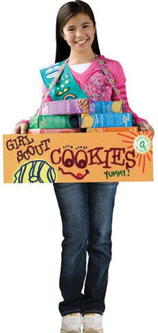 Good idea.  My daughter is selling cookies in Pensacola.  Gonna have to do this for our mobile cookie sale we're having!