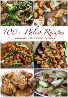 100+ Paleo Recipes