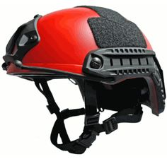 "Phalanx ""Stalker II"" Ballistic Operator Helmet in Search & Rescue Red"