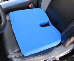 Memory Foam Ortho Wedge Cushion Color: Navy  Price:$29.95