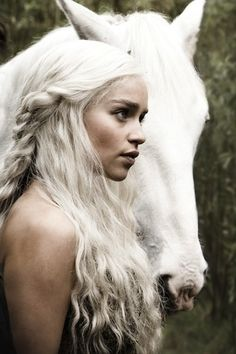 Game of Thrones - Daenerys Targaryen... freakin love her.