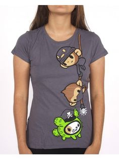 Monkey Business Tee - Want!