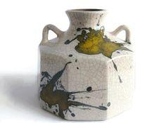 Modernist West German Pottery Vase Marei 1304  by 35Orangestreet