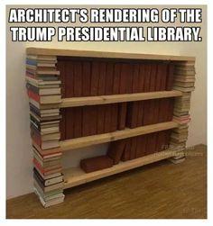 I imagine the library will also display many, many mirrors....