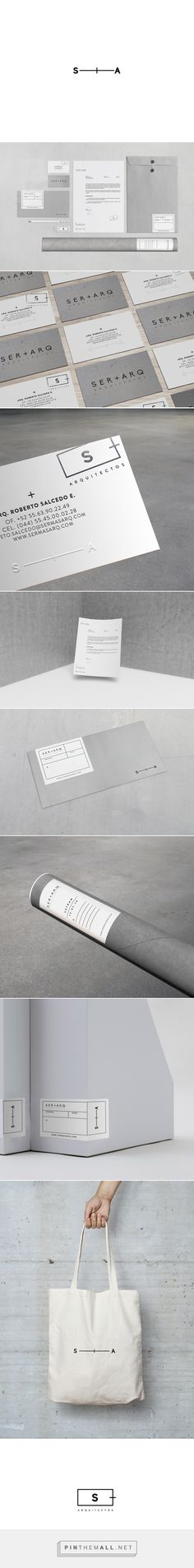 SER+ARQ Architect Branding by Karla Heredia Martinez | Fivestar Branding Agency – Design and Branding Agency & Curated Inspiration Gallery