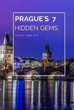 Prague off the beaten path. Discover Prague's secrets: