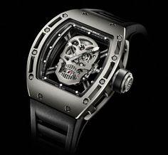 My Dream Watch Richard Mille RM052 Skull - US$ 500,000.00