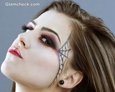 Spider Web Makeup Halloween