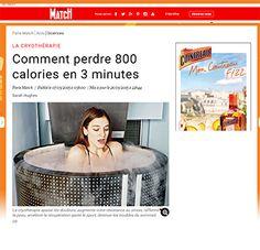 Paris Match en parle : la #Cryothérapie ça fait aussi maigrir !