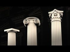 Modeling Colunms in Rhino Introduction and Project Overview Rhino Architecture, Corinthian Columns, Rhino 3d, Small Leaf, Rhinoceros, Acanthus, Reference Images, Egg, Tutorials