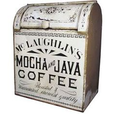 McLaughlin's Mocha & Java Coffee Store Bin