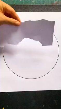 Canvas Painting Tutorials, Diy Canvas Art, Painting Techniques, Watercolor Techniques, Painting Tips, Oil Pastel Techniques, Bubble Painting, Watercolor Art Lessons, Simple Canvas Paintings