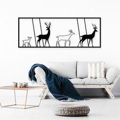 Herd - אלגנטי אומנות במתכת #דקורציהלבית #דקורציהלקיר #דיזיין #הוםדיזיי #עיצובהחדר #חיתוךבלייזר #design