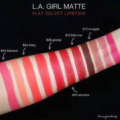L.A girl lipstick