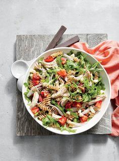 Chicken and Arugula Pasta Salad